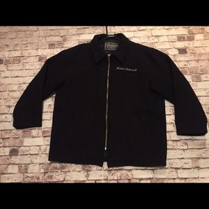 Indian motorcycle wool coat
